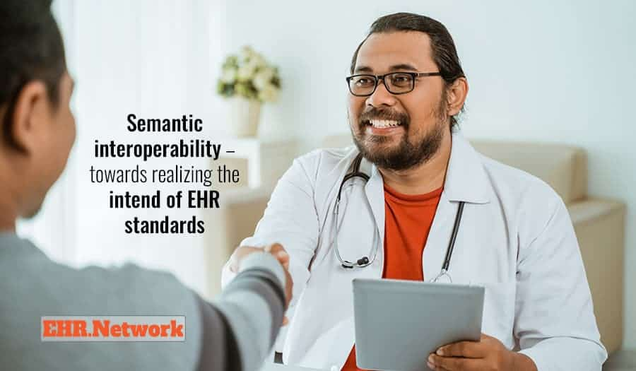 Semantic interoperability - towards realizing the intend of EHR standards