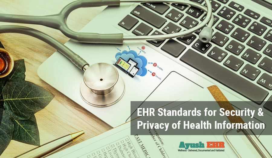 Indian EHR Standards – Part2 : Security & privacy of personal data
