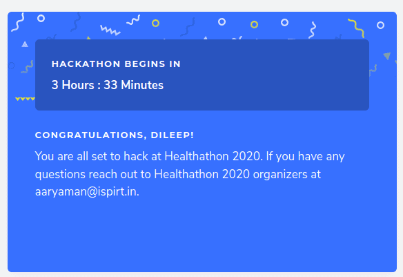 Healthelife team selected for the Healthathon 2020