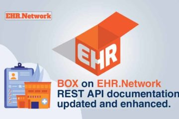 BOX on EHR.Network REST API documentation updated and enhanced