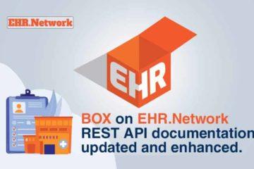 BOX on EHR.Network REST API documentation updated and enhanced