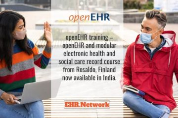 openEHR training - openEHR and modular electronic health and social care record course from Rosaldo, Finland now available in India.